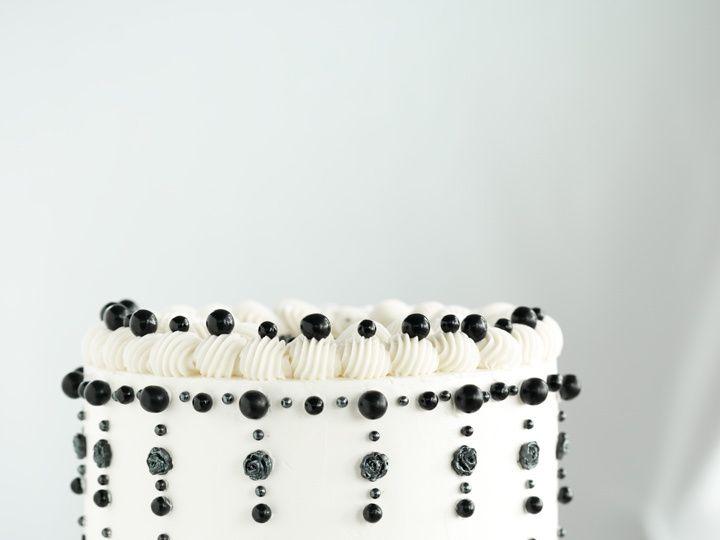 Tmx Black And White Cake Theknot 51 1892181 157478144549426 Marine City, MI wedding cake