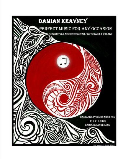 Damian Keavney / Solo Acoustic Fingerstyle Guitarist / Vocalist / Keyboardist / Percussionist