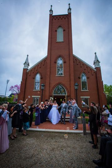 Historic church, exterior