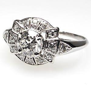 Tmx 1334783087629 Artdecoantiqueengagementringwm7013i Bellevue wedding jewelry