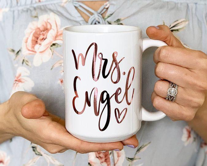 The perfect Mrs. coffee mug
