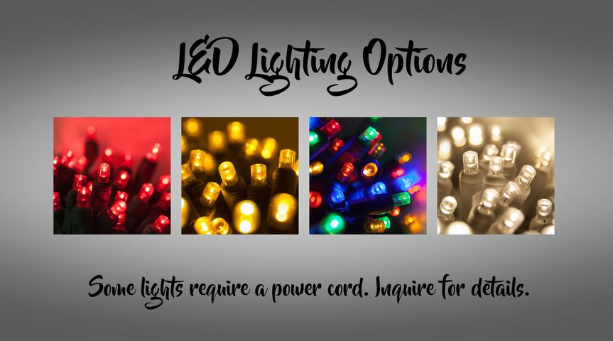 Lighting options