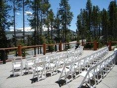 Blue Sky outdoor Ceremony site
