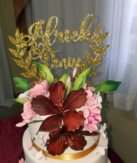 Beautiful edible flowers