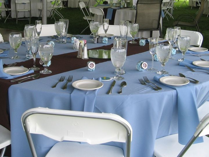 Tmx 1372277384218 Copy Of Kuhn Blue Table Columbus, OH wedding catering
