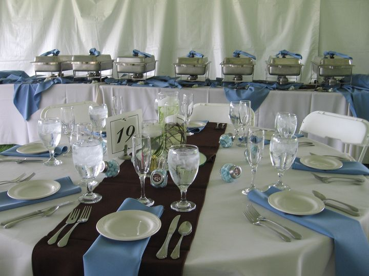 Tmx 1372277455519 Kuhn Tent Place Setting Columbus, OH wedding catering