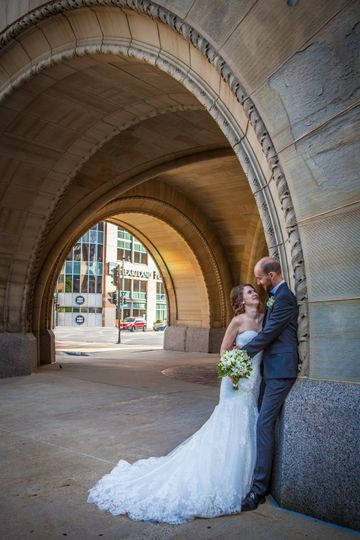 Bride and groom (Kathy McDowell Photography)