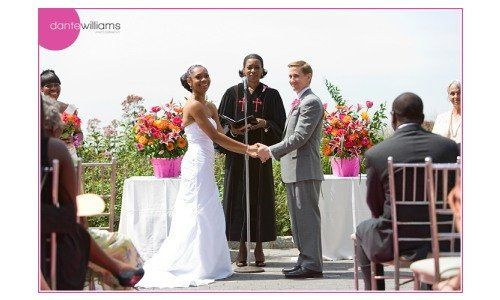 Battery Gardens Restaurant wedding.