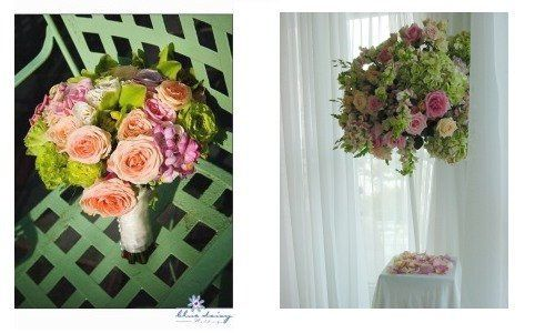 Battery Gardens Wedding bouquet