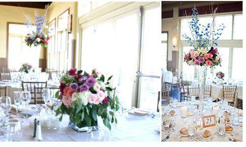 Tmx 1345665793788 Libertyhouserestaurantwedding Hoboken wedding florist