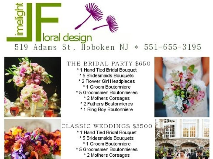 Tmx 1366120984745 Brochure Hoboken wedding florist