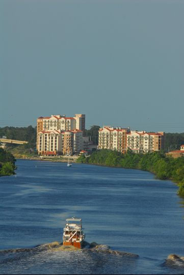 The Marina Inn is located along the Intracoastal Waterway.