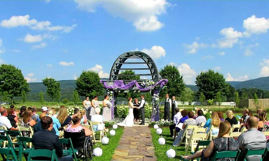 Fright Farm wedding in Smithfield, PA