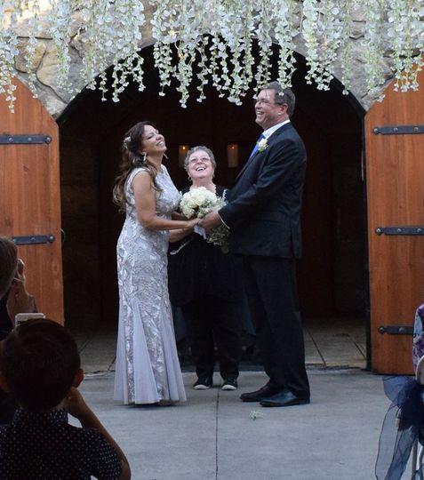 Lambert's Winery ceremony in Weston, WV