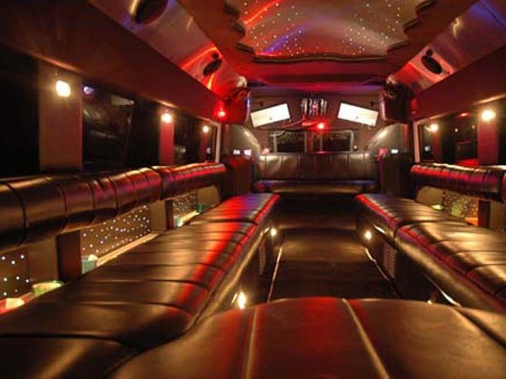 Tmx 1438985804361 Luxury Interior Of Hummer H1 Limousine Charlestown wedding transportation