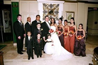 200 seated wedding