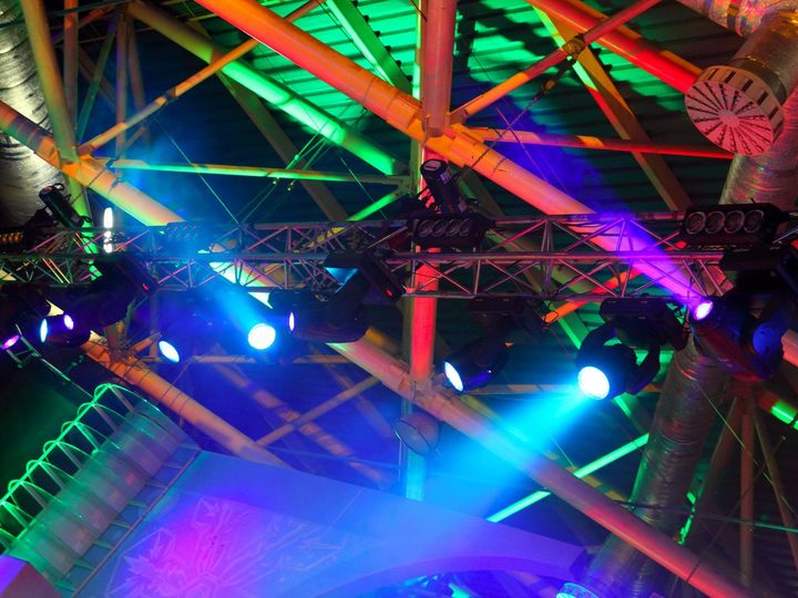 Tmx 1427122453156 Photodune 702524 Colored Spotlights On Ceiling M Hialeah wedding dj