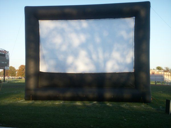Inflatable Screens.