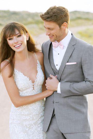 Heather Gray Clayton Suit