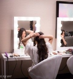 Must have station for hair and makeup