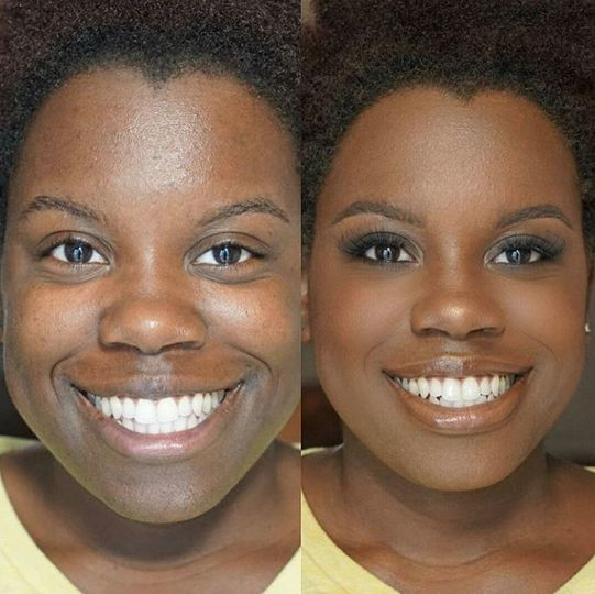 Stunning before and after