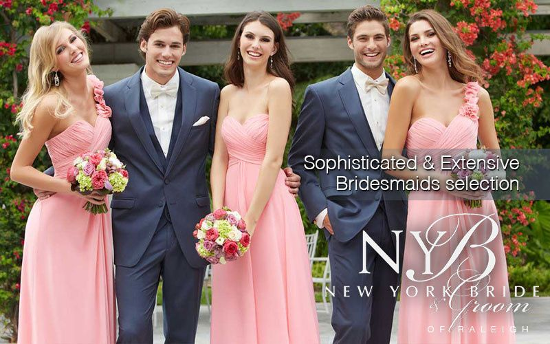 new york bride groom of raleigh bridesmaid d