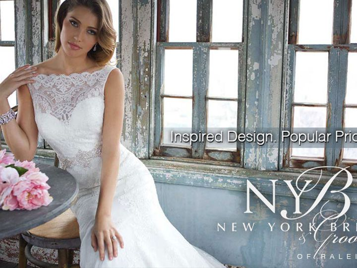 Tmx 1459378693886 1  New York Bride  Groom Of Raleigh   Inspired Des Garner wedding dress