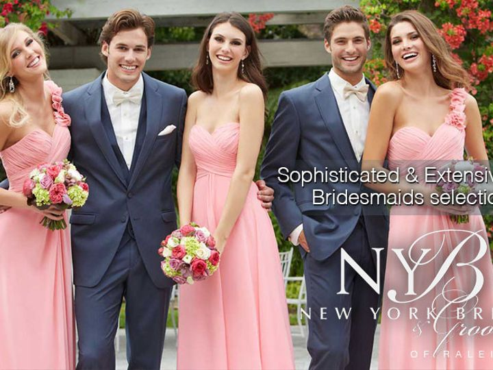 Tmx 1459378699942 3  New York Bride  Groom Of Raleigh   Bridesmaid D Garner wedding dress