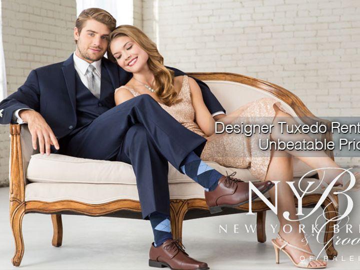 Tmx 1459378706561 4 New York Bride  Groom Of Raleigh  Tuxedo Rental Garner wedding dress