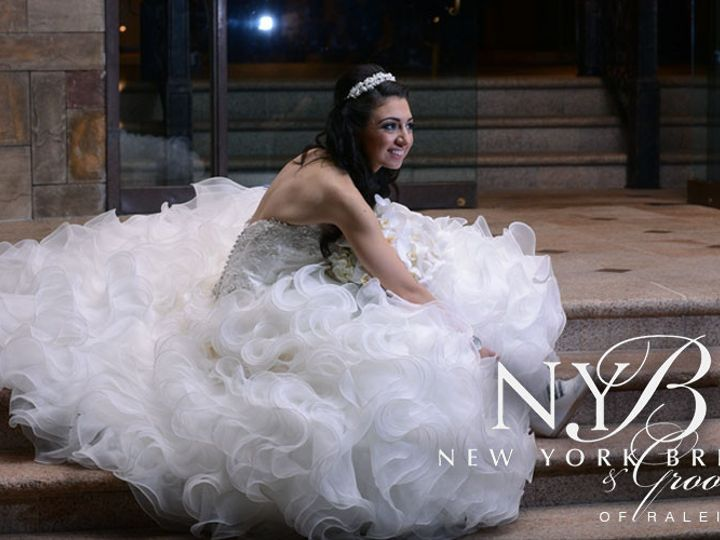 Tmx 1459378733662 9 New York Bride  Groom Of Raleigh Garner wedding dress