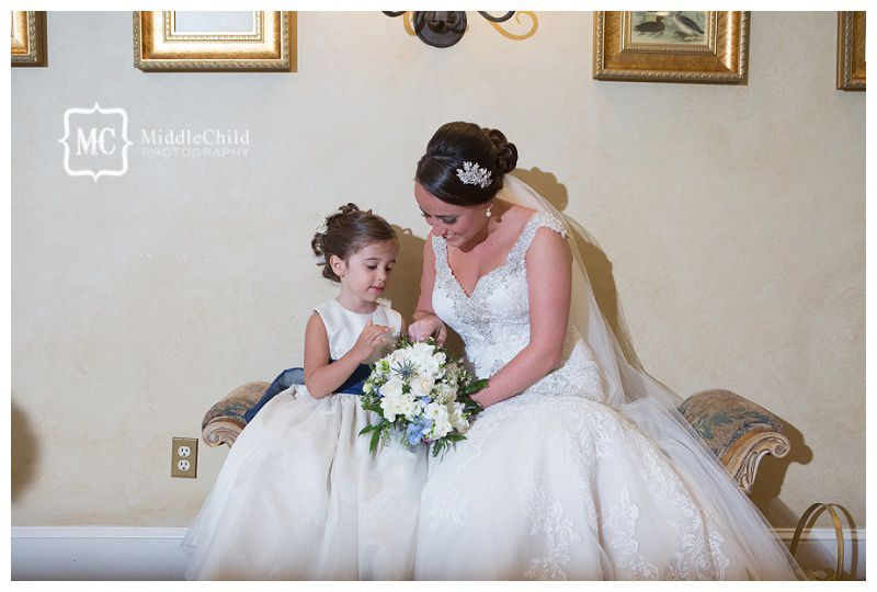 68962c9d6dee7a00 bride and flower girl
