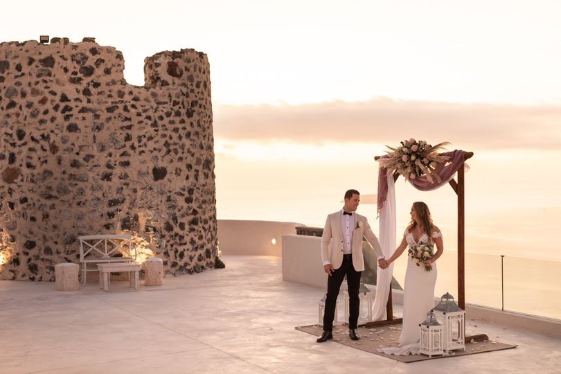 Wedding at El Viento, Santorin