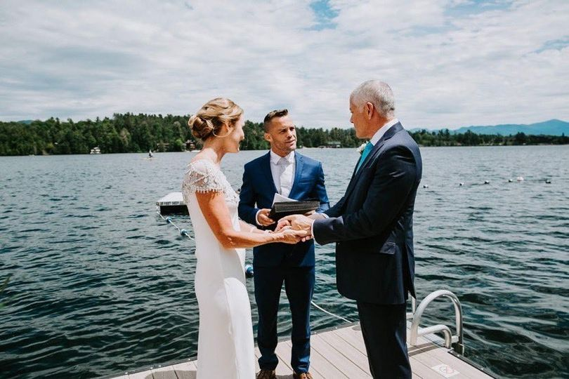 Elopement on the water!