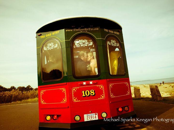 Tmx 1358962145642 RandGoutsidekiss Plymouth, MA wedding transportation