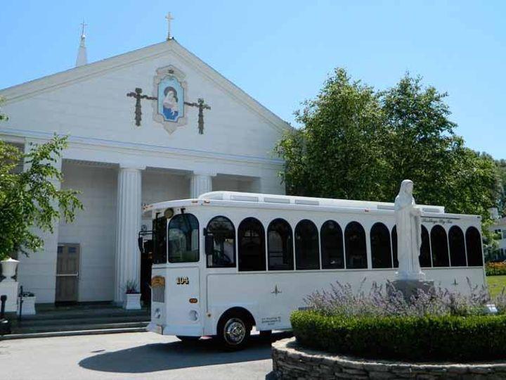 Tmx 1358963067918 TrolleyChurchcohasset Plymouth, MA wedding transportation