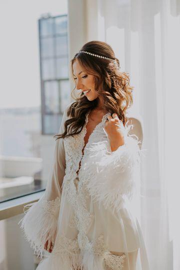 Custom Bridal Robe