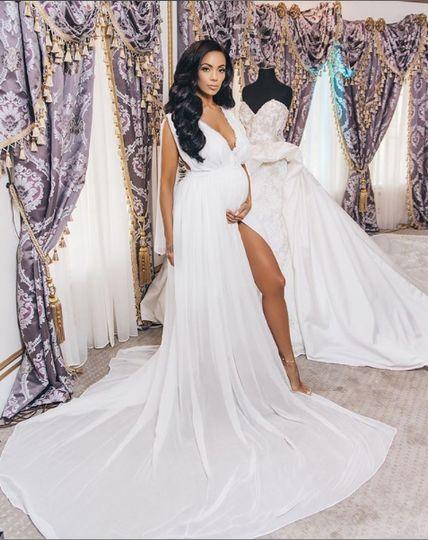 Lé Lauriér custom Bridal Robes
