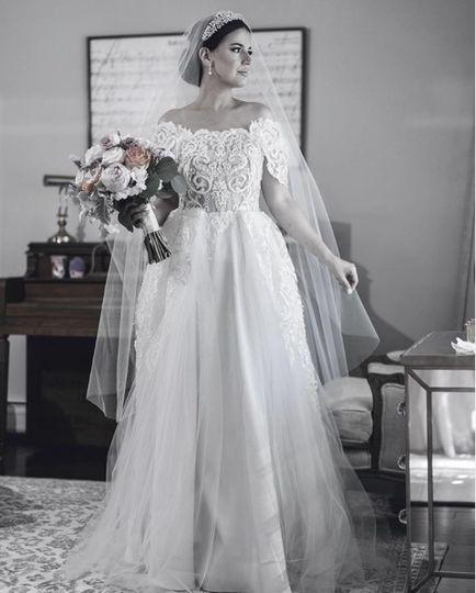 Lé Lauriér custom Wedding Gown