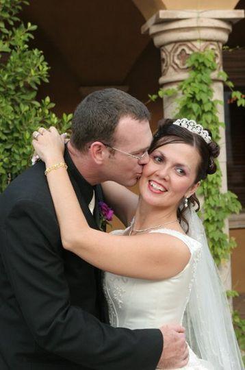 Cathy & Jason - 9.28.06 -- Villa Siena in Gilbert (Photo by Nelsons Weddings)