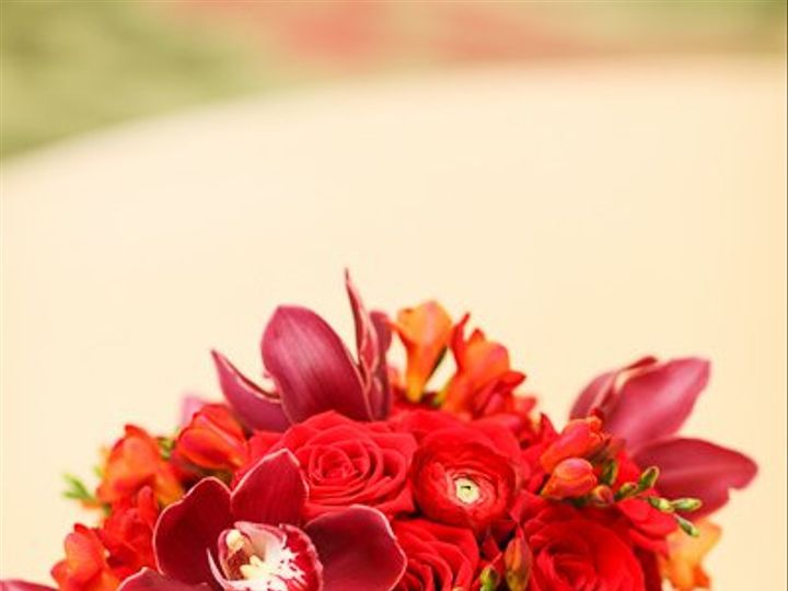 Tmx 1356133157278 Lavieenroseredorchidranunculusfreesiaroseflowerbouquetweddingvinoyrenaissance Tampa wedding florist