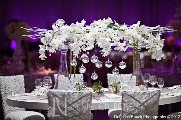 Tmx 1356133179950 Lavieenrosewhiteorchidflowercenterpiecetseweddingdinner Tampa wedding florist