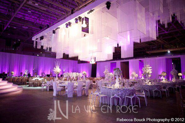 Tmx 1356135652960 Lavieenrosewhiteorchidtuliprosecenterpiecepurplelightnuagelinentseweddingdinner Tampa wedding florist