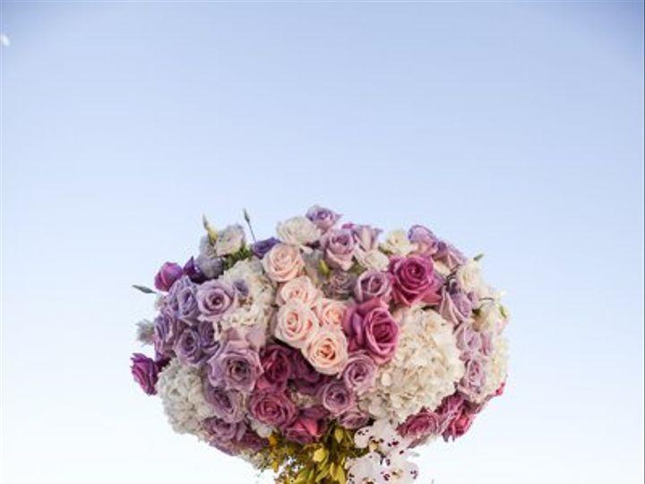 Tmx 1356135668909 Lavieenroseyelloworchidpurplerosewhitehydrengeacenterpieceweddingwestintampa Tampa, FL wedding florist