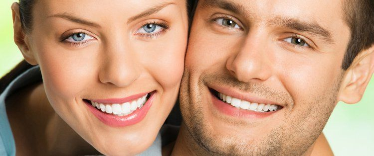 Couples teeth whitening