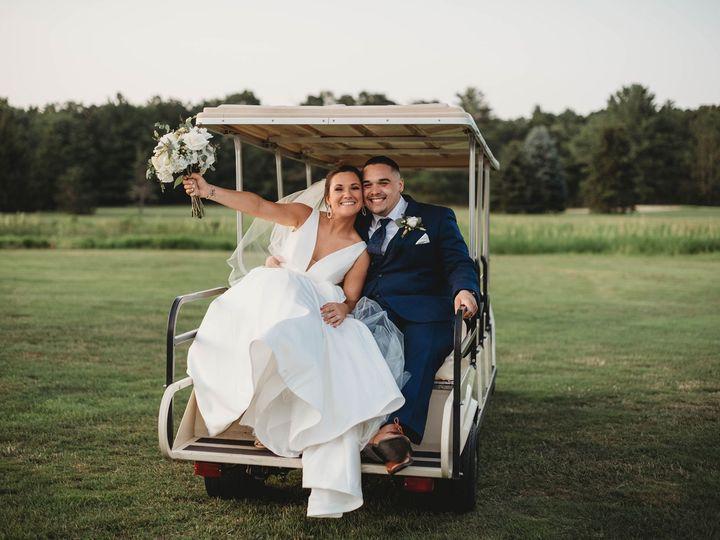 Tmx The Villa Tent July Wedding Lauren And Mark Golf Cart 51 635281 158402967128842 East Bridgewater wedding venue