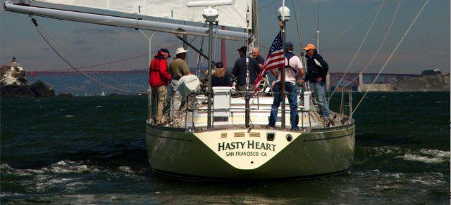 hasty heart sails to golden gate bridg