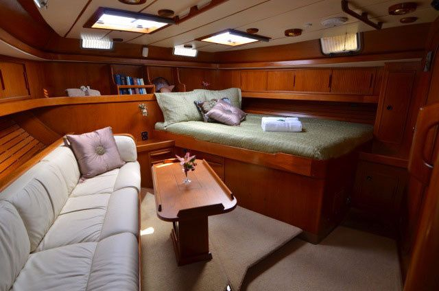 sf charter sailboat private room