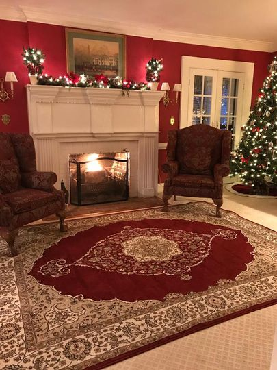 Christmas Reception Room