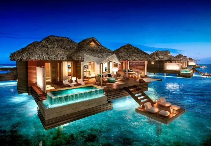 sandals overwater bungalow