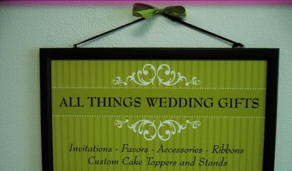 All Things Wedding Gifts